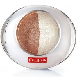 Тени для век 2-цветные запеченные - PUPA Luminys Eyeshadow Duo