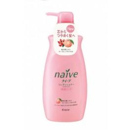 Бальзам-ополаскиватель для сухих волос с экстрактом персика и маслом шиповника - KANEBO Naive