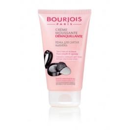 Пенка для снятия макияжа для сухой и чувствительной кожи лица - BOURJOIS Creme Moussante Demaquillante