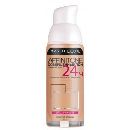 Крем тональный, стойкий - MAYBELLINE Affinitone 24h