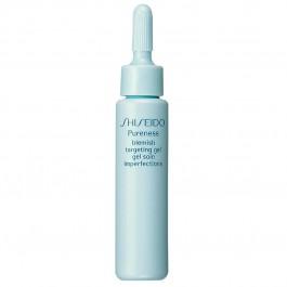 Гель для лица снимающий воспаление для проблемной кожи - SHISEIDO Pureness Blemish Targeting Gel