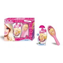 Набор подарочный: шампунь для волос, расческа для волос - ADMIRANDA Barbie