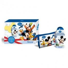 Набор подарочный: шампунь для волос с экстрактом масла оливы и лоэ-вера, косметичка  - ADMIRANDA Mickey Mouse