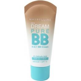 Крем-уход для лица с тонирующим эффектом для проблемной кожи - MAYBELLINE BB Dream Pure SPF15