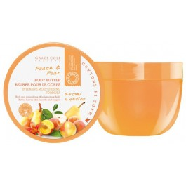 Крем для тела с ароматом персика и груши - GRACE COLE Body Butter Peach & Pear