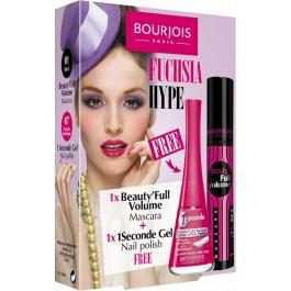 Тушь для ресниц объемная + Лак для ногтей стойкий - BOURJOIS Beauty*Full Volume Mascara, BOURJOIS 1 Seconde