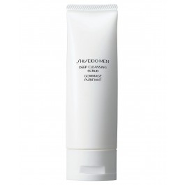 Скраб для лица глубоко очищающий мужской - SHISEIDO Men Deep Cleansing Scrub