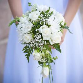 Элегантный свадебный букет