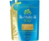 Шампунь-ополаскиватель (2 в 1) для ослабленных и поврежденных волос с экстрактами морских водорослей и минералами - KANEBO Umi No Uruoi Sou (запасной блок)
