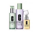 Набор - CLINIQUE 3-Step System Type 2 (Soap/50ML + Lot/100ML + Lot/30ML)