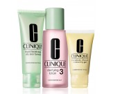 Набор - CLINIQUE 3-Step System Type 3 (Soap/50ML + Lot/100ML + Lot/30ML)