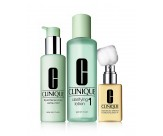 Набор - CLINIQUE 3-Step System Type 1 (Soap/50ML + Lot/100ML + Lot/30ML)