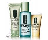 Набор - CLINIQUE 3-Step System Type 4 (Soap/50ML + Lot/100ML + Lot/30ML)