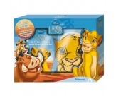 Набор - гель для душа, мочалка рукавица - ADMIRANDA Lion King