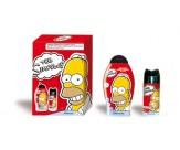 Набор подарочный: шампунь-гель для душа, дезодорант-спрей для тела парфюмированный - ADMIRANDA Simpsons