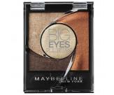 Тени для век 4-цветные компактные стойкие, мерцающий - MAYBELLINE Big Eyes by Eyestudio