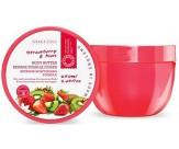 Крем для тела с ароматом клубники и киви - GRACE COLE Body Butter Strawberry & Kiwi