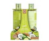 Набор для тела с ароматом кокоса и лайма: гель для душа очищающий, освежающий, лосьон для тела увлажняющий, питательный - GRACE COLE Body Care Duo Coconut & Lime