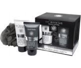 Набор для тела: гель для душа очищающий и освежающий, шампунь для волос, мочалка - GRACE COLE Home black Pepper Impulse