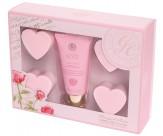 Набор подарочный с ароматом розы: крем для рук, мыло для рук - GRACE COLE Tranquil Times
