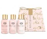 Набор с ароматом ванили и пиона: гель для душа, пена для ванны, лосьон для тела - GRACE COLE Travel Miniatures Vanilla Blush & Peony